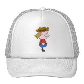 Cowboy illustration. trucker hats
