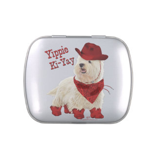 Cowboy in Boots Jelly Belly Tins