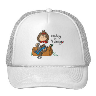 Cowboy in Training Tshirts and Gifts Cap