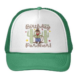 Cowboy Kids Birthday Mesh Hats
