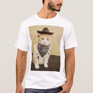Cowboy Kitty T-Shirt