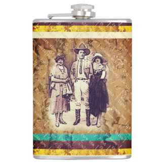 Cowboy Ladie's Man Flask