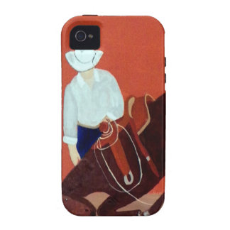 Cowboy LOve Vibe iPhone 4 Covers