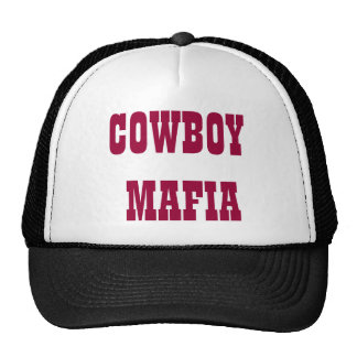 COWBOY MAFIA TRUCKER HAT