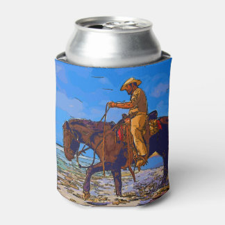 Cowboy Mounted Can Cooler