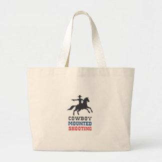 COWBOY MOUNTED SHOOTING BAGS