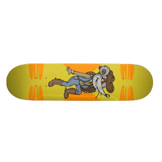 Cowboy Mouse 18.1 Cm Old School Skateboard Deck