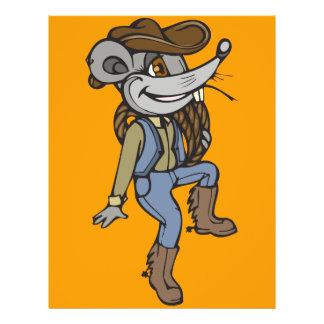 Cowboy Mouse 21.5 Cm X 28 Cm Flyer