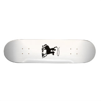 Cowboy on Horse Skateboard Deck