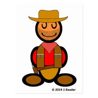Cowboy (plain) post cards