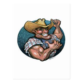 Cowboy Postcard