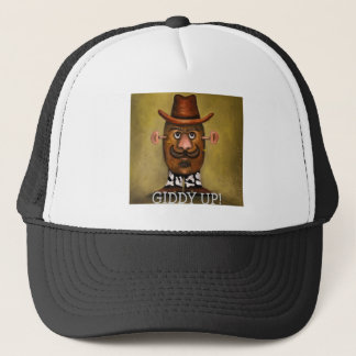 cowboy potato trucker hat