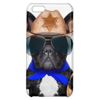 cowboy pug - dog cowboy iPhone 5C cover