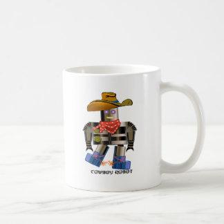 Cowboy Robot Coffee Mugs