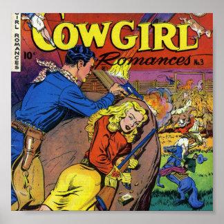 Cowboy Romances Poster