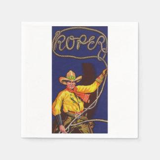 Cowboy Roper Paper Napkins Disposable Napkin