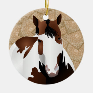 Cowboy Round Up! Ceramic Ornament