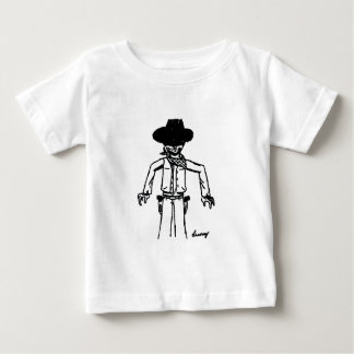 Cowboy Sketch Infant T-Shirt