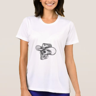 Cowboy Skull Tattoo T-Shirt