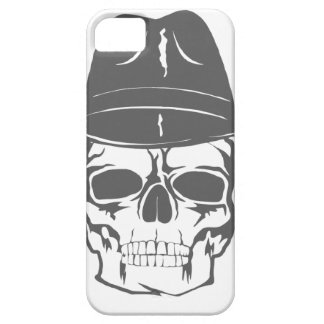 Cowboy Skull With Hat iPhone 5 Case