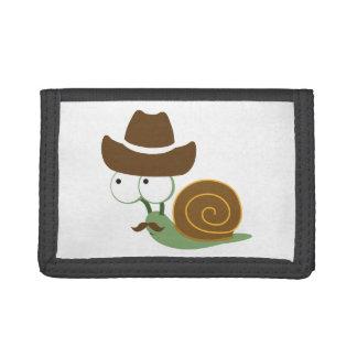 Cowboy Snail Tri-fold Wallet