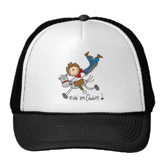 Cowboy Stick Figure Tshirts and Gifts Hat