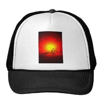 Cowboy Sunset Trucker Hats