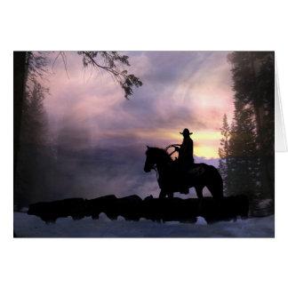 Cowboy Sympathy Card
