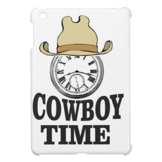 cowboy time hat man cover for the iPad mini