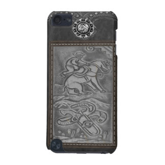"""Cowboy"" Tooled Leather Western IPod Touch Case"