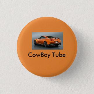 CowBoy tube Boutten 3 Cm Round Badge