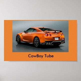 cowboy tube poster