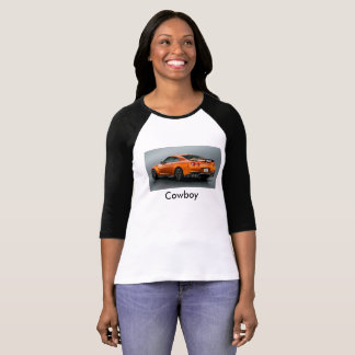 Cowboy tube woman t-strits T-Shirt