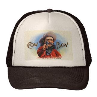 Cowboy - Vintage Ad - Hits the Mark Cap