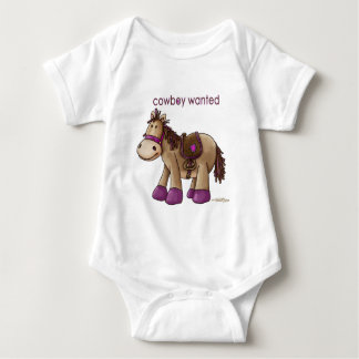 Cowboy Wanted Baby Bodysuit