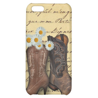 Cowboy Western Country Wedding savethedate favor iPhone 5C Cover