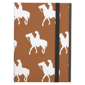 Cowboy White Brown iPad Air Cases