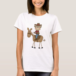 Cowboy With Brown Horse Tshirts and Gifts