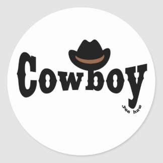 cowboy yeehaw sticker