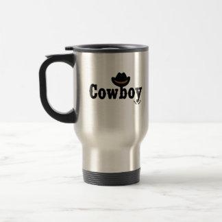 cowboy yeehaw travel mug