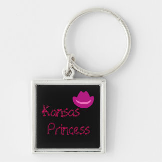 cowboyha_pink_dark, Kansas, Princess Key Ring