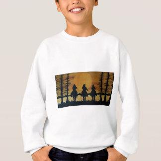 cowboys and horses sweatshirt
