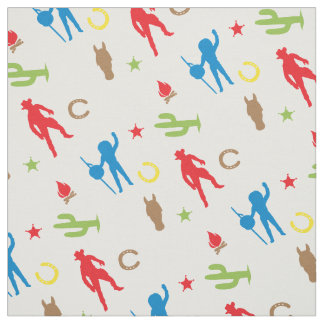 Cowboys and Indians | Boys Fabric