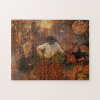 Cowboys - Boots, Wild Horses & Western Sunsets Jigsaw Puzzle