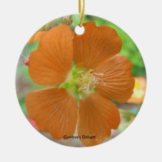 Cowboy's Delight Ceramic Ornament