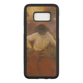 Cowboys - Leather Boots, Wild Horses & Western Sun Carved Samsung Galaxy S8 Case
