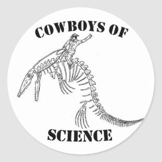 Cowboys of Science Sticker