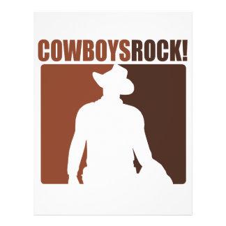 Cowboys Rocks! Full Color Flyer