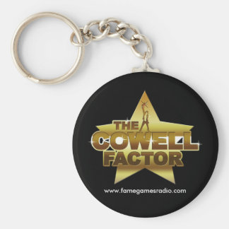 Cowell Factor Key Ring Basic Round Button Key Ring