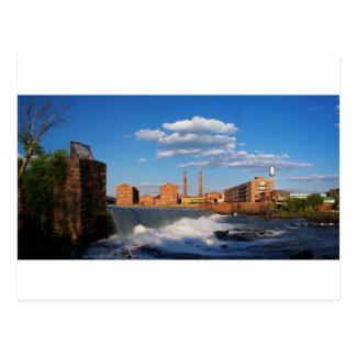 Coweta Falls, Columbus, GA Postcard